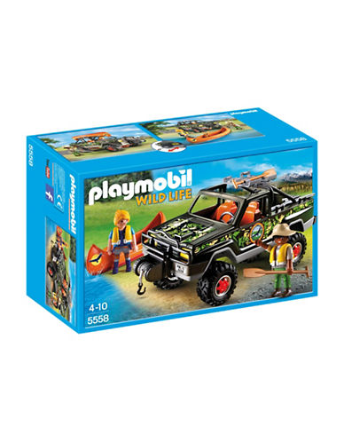 Playmobil Adventure Pickup Truck Playset-MULTI-One Size