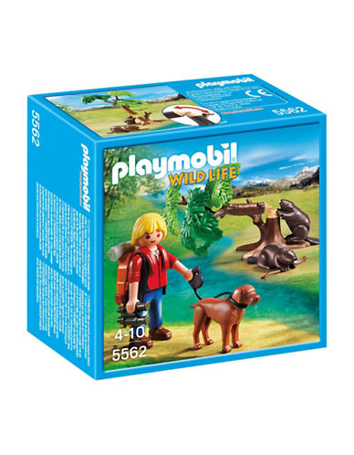 Playmobil Beavers with Backpacker Playset-MULTI-One Size