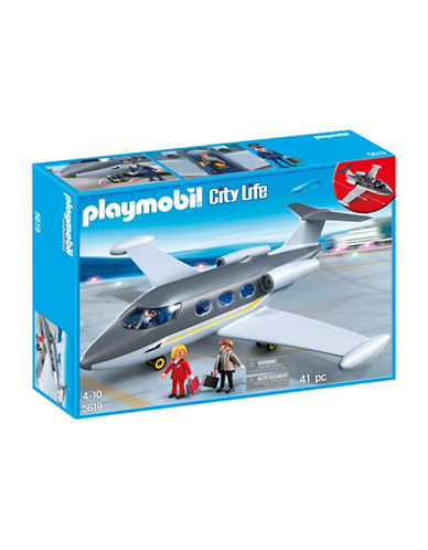 Playmobil Private Jet Playset-MULTI-One Size