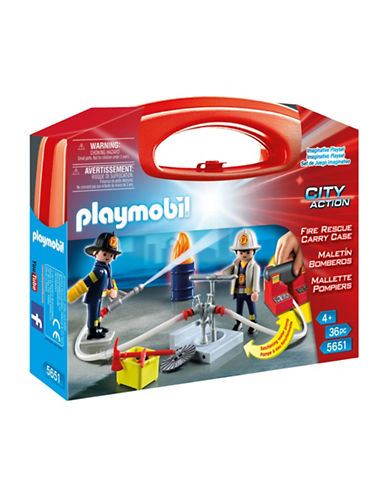 Playmobil Fire Rescue Carry Case-MULTI-One Size