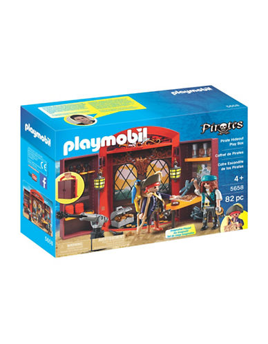 Playmobil Pirate Hideout Play Box-MULTI-One Size