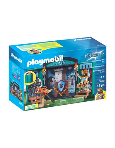Playmobil Royal Knight Play Box-MULTI-One Size