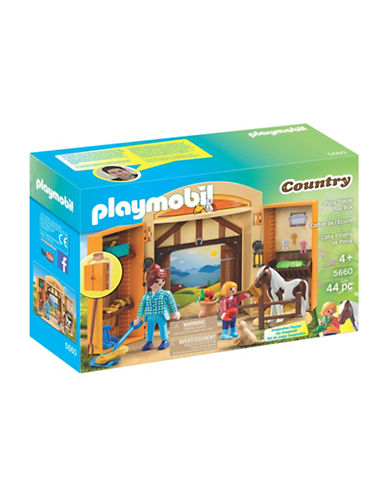 Playmobil Pony Stable Play Box-MULTI-One Size