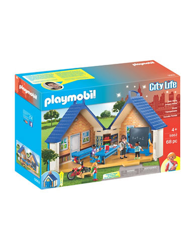 Playmobil Take Along School House Playset 88671254