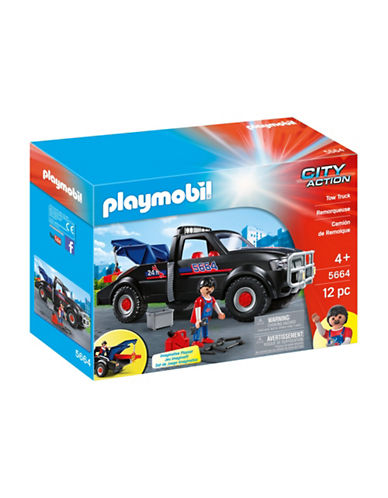 Playmobil Tow Truck Set-MULTI-One Size