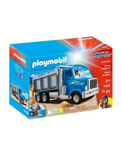 Playmobil Dump Truck Set-MULTI-One Size
