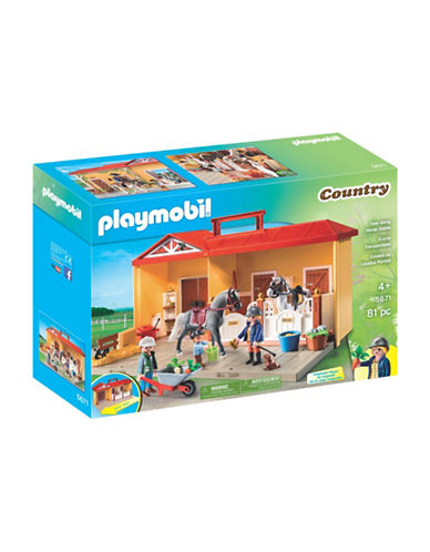 Playmobil Take Along Horse Stable-MULTI-One Size