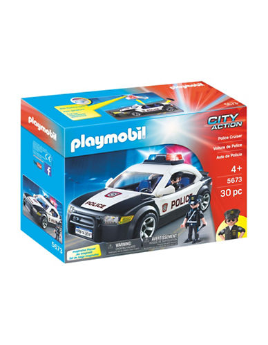 Playmobil Police Cruiser Set-MULTI-One Size