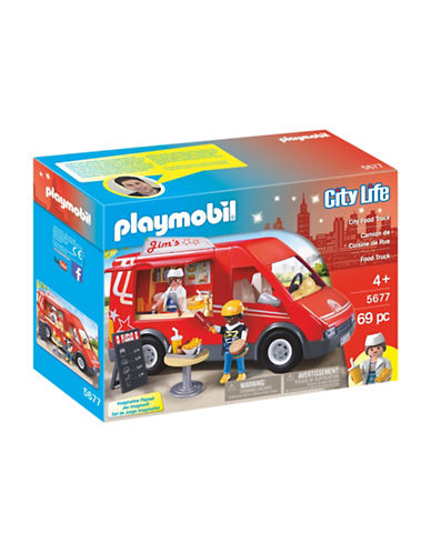 Playmobil City Food Truck Set-MULTI-One Size