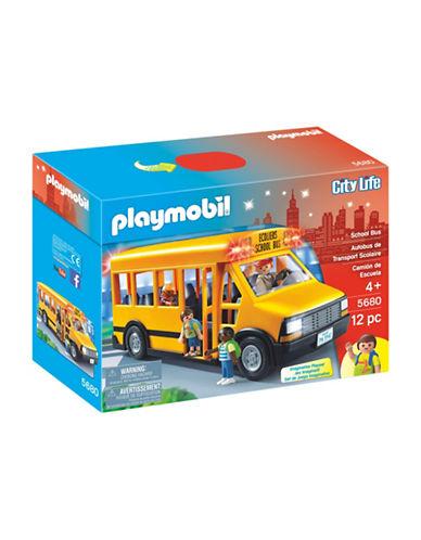 Playmobil School Bus Set-MULTI-One Size