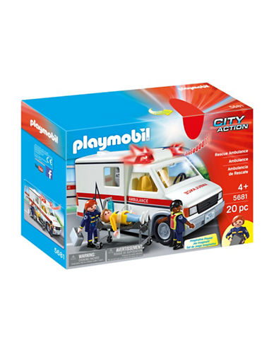 Playmobil Rescue Ambulance Set-MULTI-One Size