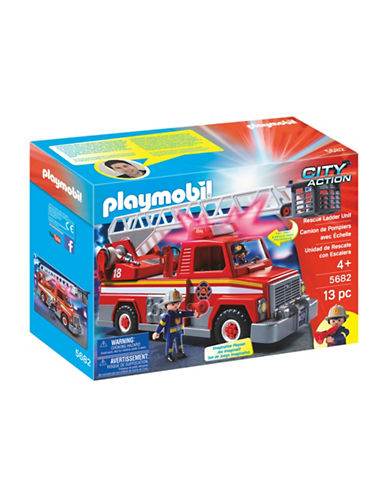 Playmobil Rescue Ladder Unit Set-MULTI-One Size