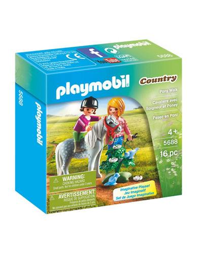 Playmobil Pony Walk Set-MULTI-One Size