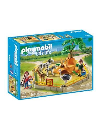Playmobil Wild Animal Enclosure Set-MULTI-One Size