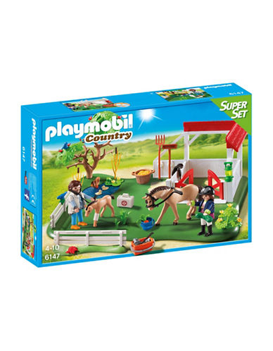 Playmobil Horse Paddock Super Set-MULTI-One Size