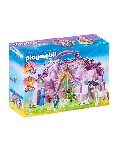 Playmobil Take Along Fairy Unicorn Garden-MULTI-One Size