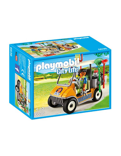 Playmobil Zookeepers Cart Set-MULTI-One Size