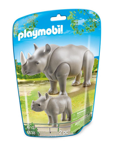 Playmobil Rhino with Baby-MULTI-One Size 88671304_MULTI_One Size