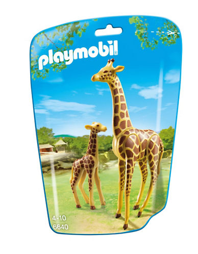 Playmobil Giraffe with Baby-MULTI-One Size