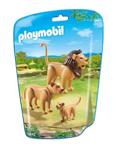 Playmobil Lion Family-MULTI-One Size