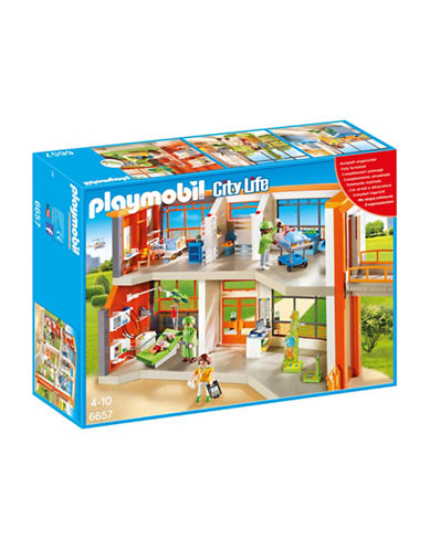 Playmobil Furnished Childrens Hospital Set-MULTI-One Size