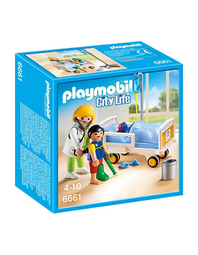 Playmobil Doctor with Child Play Set-MULTI-One Size