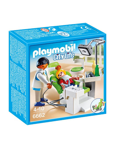 Playmobil Dentist with Patient Play Set-MULTI-One Size