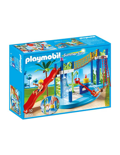 Playmobil Water Park Play Area-MULTI-One Size