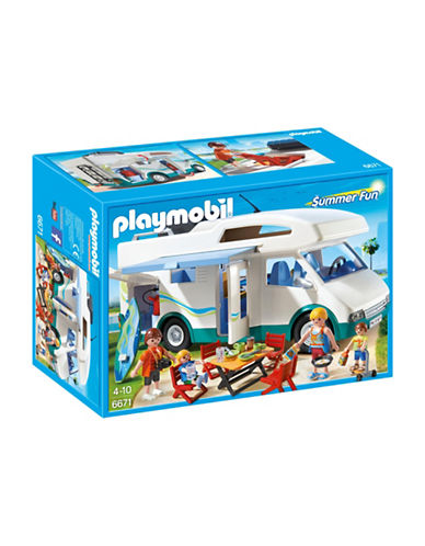 Playmobil Summer Camper Play Set-MULTI-One Size