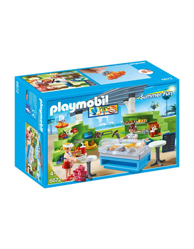 Playmobil Splish Splash Cafe Play Set-MULTI-One Size