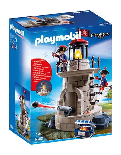 Playmobil Soldiers Lookout with Beacon Play Set-MULTI-One Size