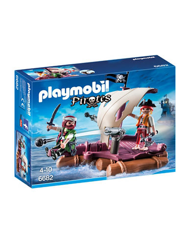 Playmobil Pirate Raft Play Set-MULTI-One Size
