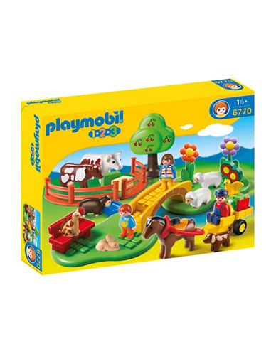 Playmobil 1.2.3 Countryside Play Set-MULTI-One Size