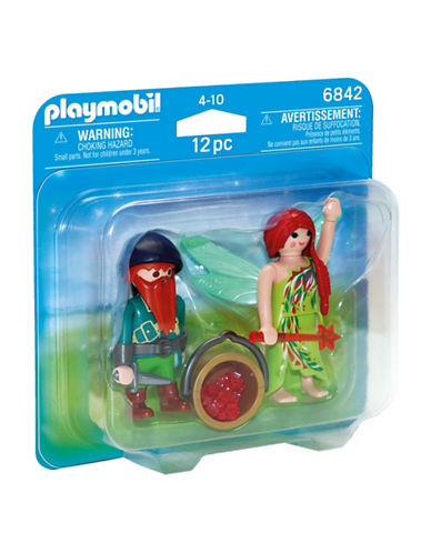 Playmobil Elf and Dwarf Duo Pack-MULTI-One Size