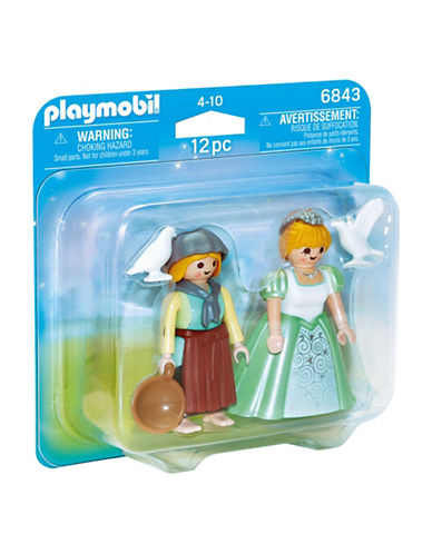 Playmobil Ensemble Princesse et servante-MULTICOLORE-Taille unique 88910785_MULTICOLORE_Taille unique