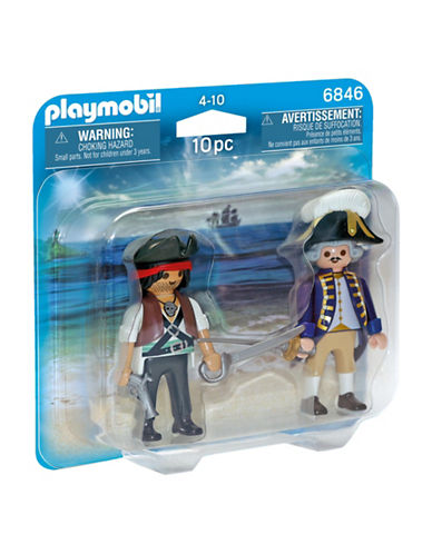 Playmobil Pirate and Soldier Duo Pack-MULTI-One Size