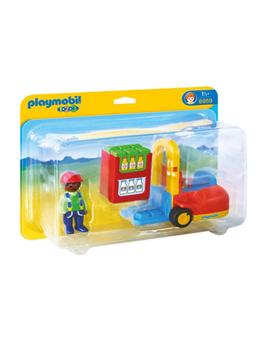Playmobil 1.2.3 Forklift Play Set-MULTI-One Size