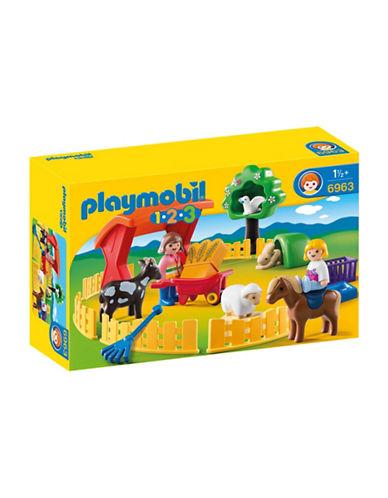 Playmobil Petting Zoo-MULTI-One Size