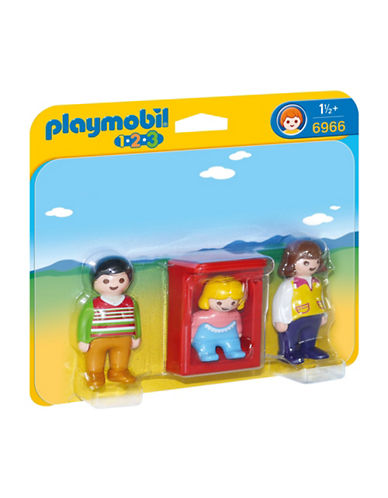 Playmobil Parents with Baby Cradle-MULTI-One Size