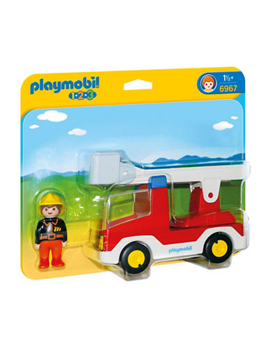 Playmobil Ladder Unit Fire Truck-MULTI-One Size