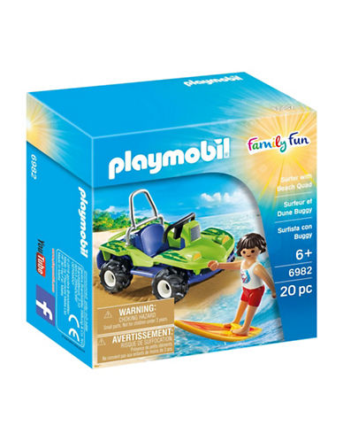 Playmobil Surfer and Beach Quad Set-MULTI-One Size