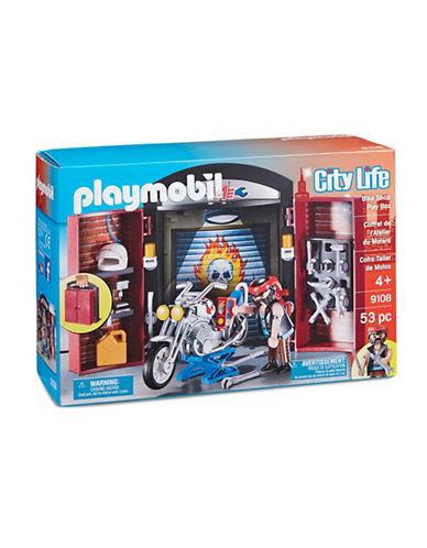 Playmobil City Life Bike Shop Play Box 9108-MULTI-One Size