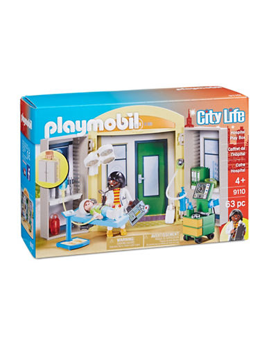 Playmobil City Life Hospital Play Box 9110-MULTI-One Size