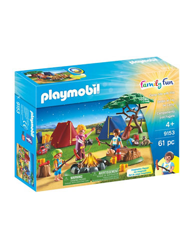 Playmobil Camp Site and Fire Set-MULTI-One Size