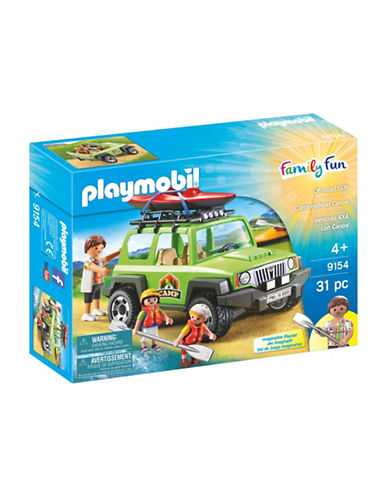 Playmobil Off-Road SUV Set-MULTI-One Size