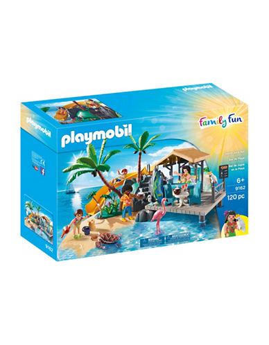 Playmobil 120-Piece Island Juice Bar Playset-MULTI-One Size