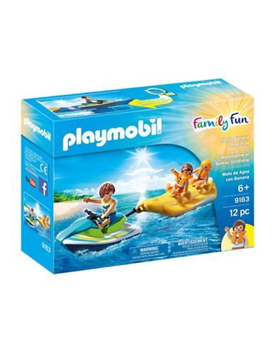 Playmobil Island Banana Boat Ride-MULTI-One Size