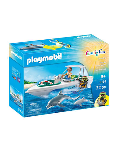 Playmobil Diving Trip Set-MULTI-One Size