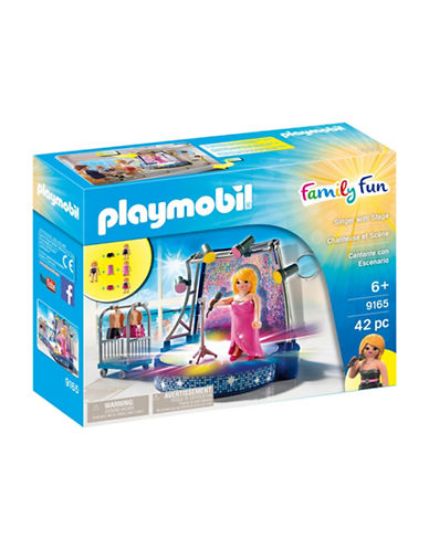 Playmobil Singer and Stage Set-MULTI-One Size