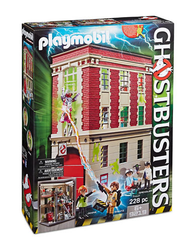Playmobil Ghostbusters Firehouse 9219-MULTI-One Size